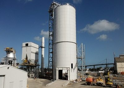 Rolled Taper Panel (RTP) Silos & Dome Storage
