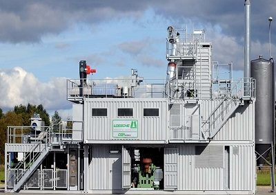 Container Grinding Plants