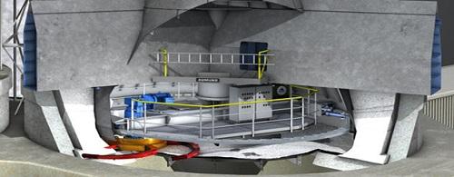 Circular Bunker Discharge Machine