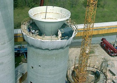 Silo Modification