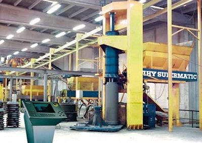 Concrete Pipe Casting Machinery