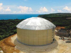 Aluminium Geodesic Domes